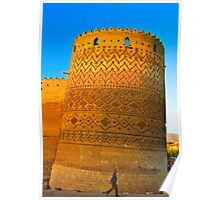 The Leaning Tower of The Arg of Karim Khan - Shiraz - Iran Poster