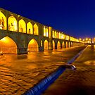 Si-o-Seh Pol - From The Other Side - Esfahan - Iran by Bryan Freeman