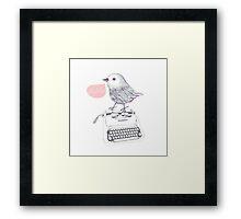 Hello;) Framed Print