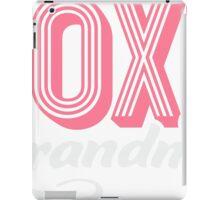 Foxy Grandma T-shirt iPad Case/Skin