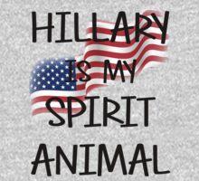 Hillary Is My Spirit Animal by tonyshop