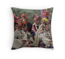 Ladakhi tribe ready to perform Throw Pillow