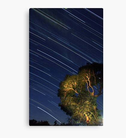 Star Trails from Home Canvas Print