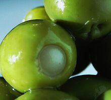 Stuffed Green Olives by Mel Preston