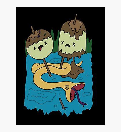 Princess Bubblegum's Rock T-shirt Photographic Print