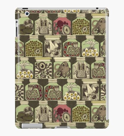 weird pickles vintage iPad Case/Skin