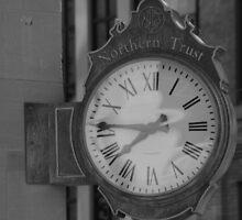 Clock On The Corner by Dean Mucha
