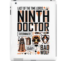 The Ninth Doctor iPad Case/Skin