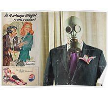 Playboy gimp editorial Poster