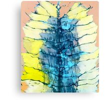 Watercolor Blue Canvas Print