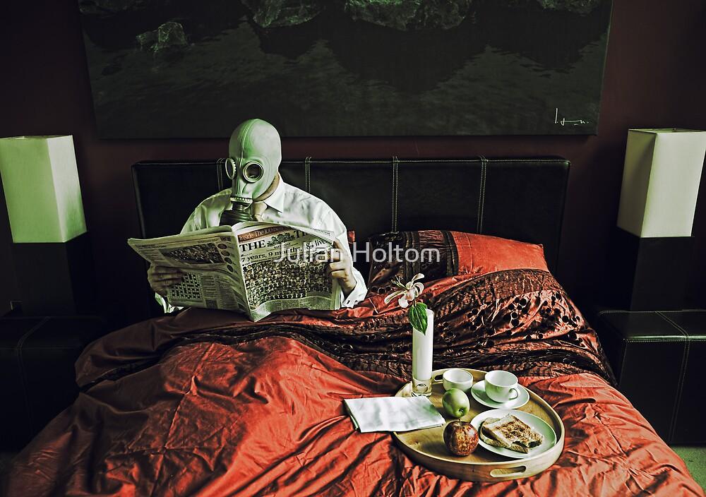 Playboy gimp at rest by Julian Holtom
