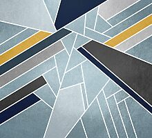 Soft silver/blue/navy/gold by Elisabeth Fredriksson