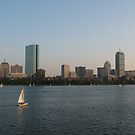 Boston Skyline by Susan Misicka