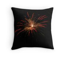 Michigan Fireworks  Throw Pillow