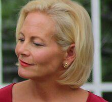 Jackie Llewelyn-Bowen by Lynn Ede