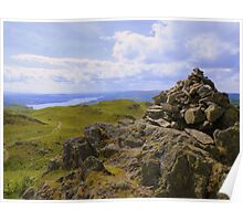 The Lake District: A View to Windermere Poster