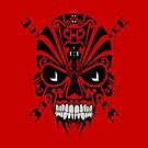 The Devil Inside - Cool Skull Vector T Shirt Design by Denis Marsili - DDTK