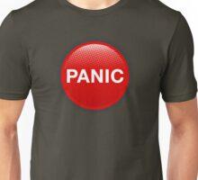 Panic button Unisex T-Shirt