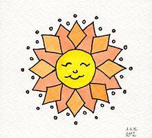 Ditzy Sun by Amy-Elyse Neer