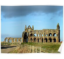 Whitby Abbey ruined yet still glorious Poster