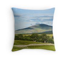 Glen Esk Scenery Throw Pillow