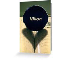 Nikon; At The Heart of the Image  Greeting Card