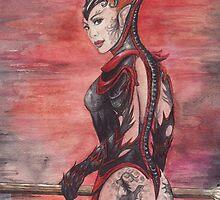 Tok-Wen Dragonmaster by morgansartworld
