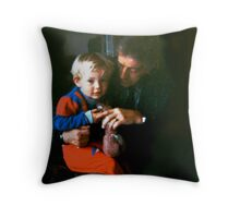 TWO GENERATIONS Throw Pillow
