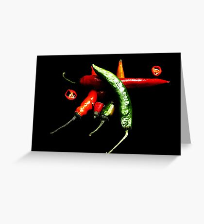 Hot and Spicy Greeting Card