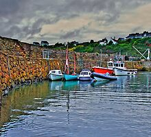 Crail harbour by Panalot