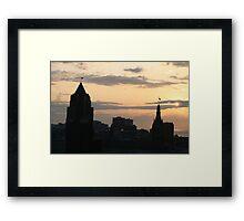 Awakening In The City Framed Print