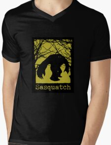 Sasquatch or Bigfoot? Mens V-Neck T-Shirt