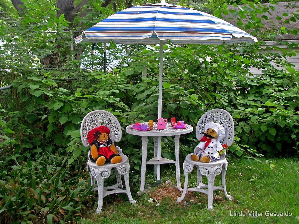 Teddy  Tea Time by Linda Miller Gesualdo