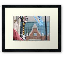 Corner Pub Framed Print