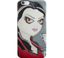 Vampire Queen iPhone Case/Skin
