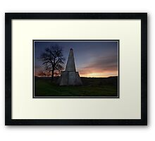 Folly at West Burton (Yorkshire Dales) Framed Print
