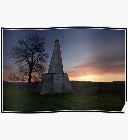 Folly at West Burton (Yorkshire Dales) Poster