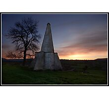 Folly at West Burton (Yorkshire Dales) Photographic Print