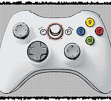 Sailor Moon Xbox Controller by DarkMarsApparel