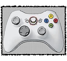 Sailor Moon Xbox Controller Photographic Print