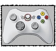 Sailor Moon Xbox Controller Photographic Print