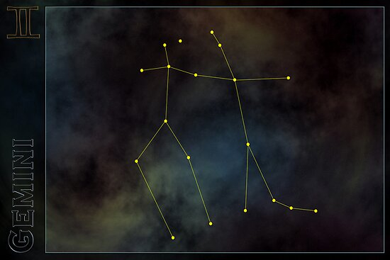 Gemini zodiac by 4Seasons