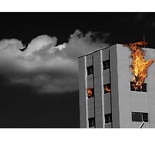 The Flames Photographic Print