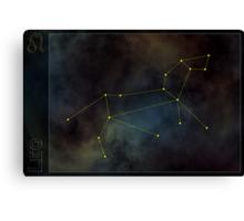 Leo zodiac Canvas Print