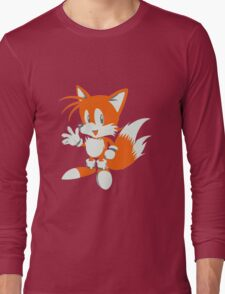 Minimalist Tails 3 Long Sleeve T-Shirt