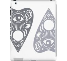 Planchette (grey) iPad Case/Skin