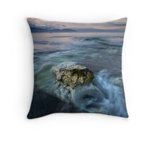 Smoking Pipe Blues Throw Pillow