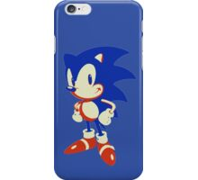 Minimalist Sonic 10 iPhone Case/Skin