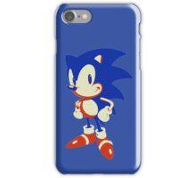 Minimalist Sonic 10 iPhone Case/Skin