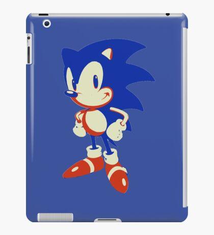 Minimalist Sonic 10 iPad Case/Skin